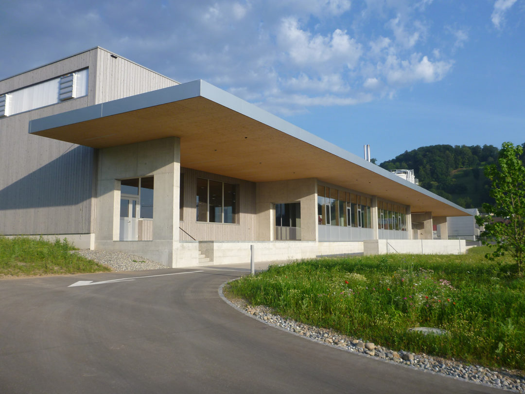 Betriebserweiterung + Infrastrukturbau, Brunegg