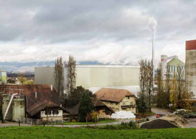 Holzheizkraftwerk, Aarberg