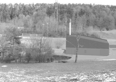 Heizzentrale Wärmeverbund Gattikon