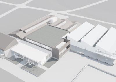 Teilersatzbau Betrieb und Personalzugang, Brunegg